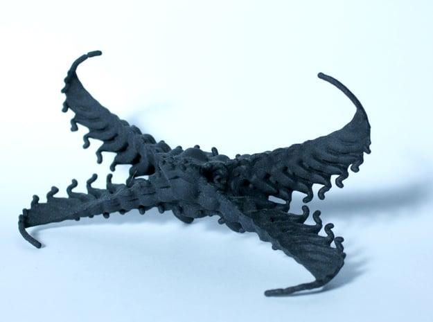 Bowtie Claws in Black Natural Versatile Plastic