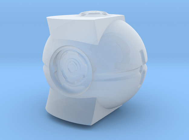 Monument4 in Smooth Fine Detail Plastic: Small