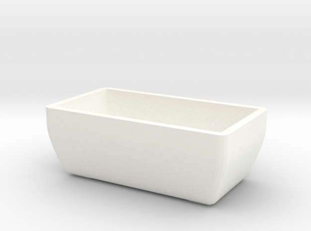 Fallout 4 cooler bottom in White Processed Versatile Plastic