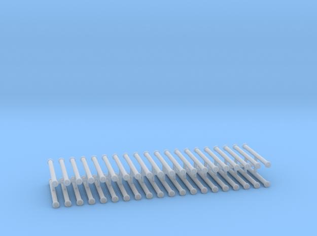 Saugschlauchsatz A 2,5m 10erSet - 1:76 in Smooth Fine Detail Plastic