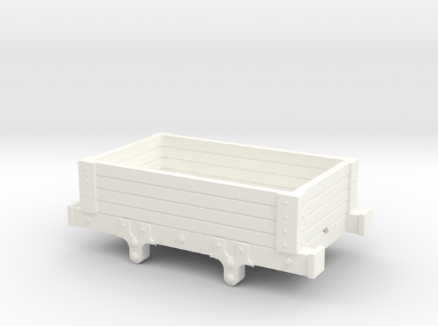 12mm to Foot scale Talyllyn Rly 4plk. in White Processed Versatile Plastic