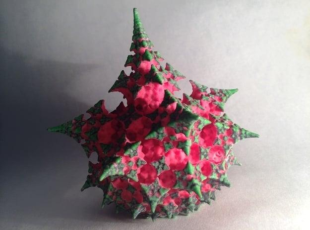 Fractal Dragon Fruit in Full Color Sandstone