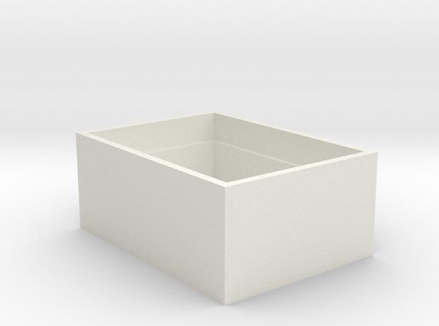 433-1136-ND Box in White Natural Versatile Plastic