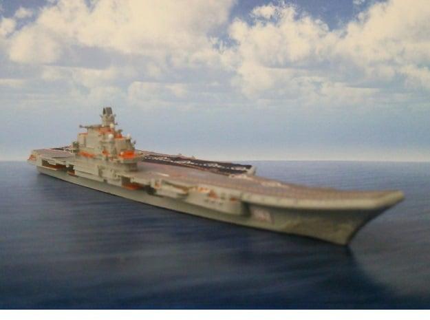 1/2000 RFS Admiral_Kuznetsov in Smooth Fine Detail Plastic