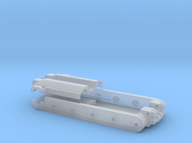 Wanne PB600 einzeln in Smooth Fine Detail Plastic
