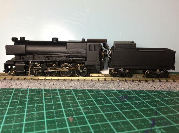 Victorian Railways C Class Steam Loco - N Scale in Smoothest Fine Detail Plastic