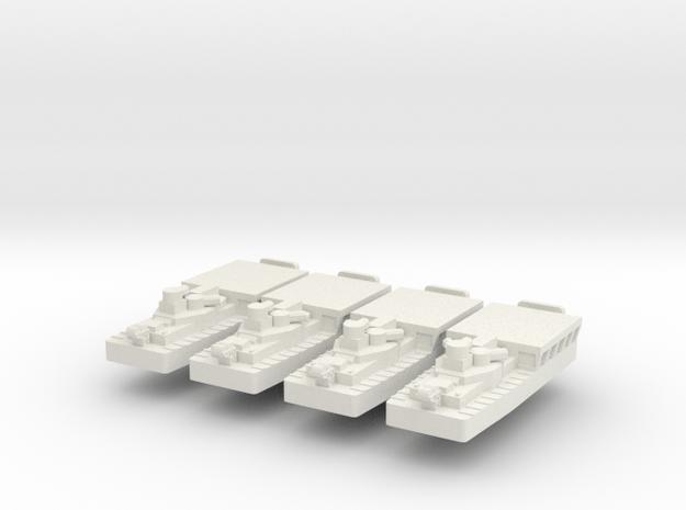 1/700 Vietnam ATC(H) x 4 off in White Natural Versatile Plastic