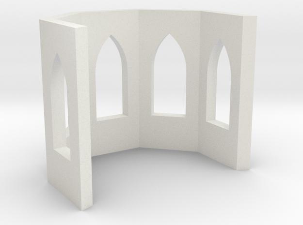 shkr018 - Teil 18 Chor ohne Fenster nur mit Leibun in White Natural Versatile Plastic