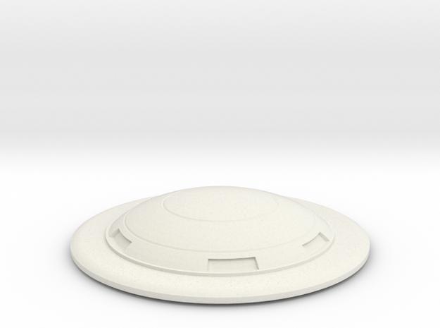 Saucer series 2001 in White Natural Versatile Plastic