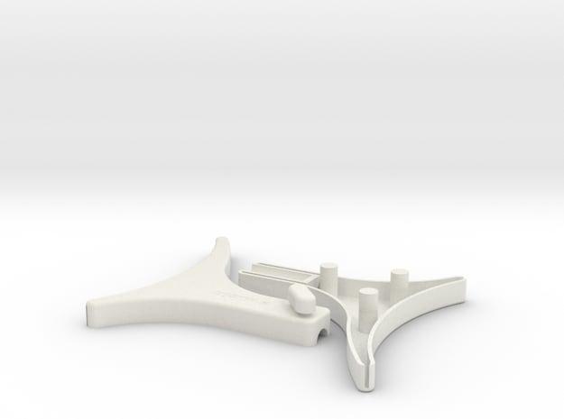 Supertrooper/Pre-Pro/Promo Sling Gun Stock in White Natural Versatile Plastic