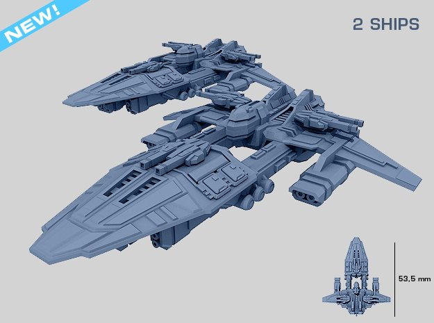 HOMEFLEET Escort Cruiser - 2 ships
