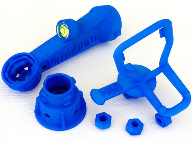 Panohero-Maxi for Hero 5/6/7 in Blue Processed Versatile Plastic: Medium