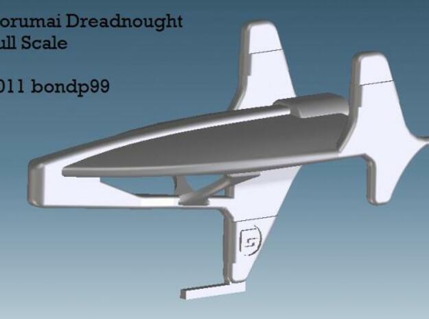 Corumai Dreadnought in White Natural Versatile Plastic