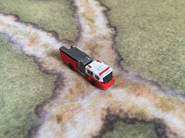 1:285 Pierce Quantum Engine in White Natural Versatile Plastic: 6mm
