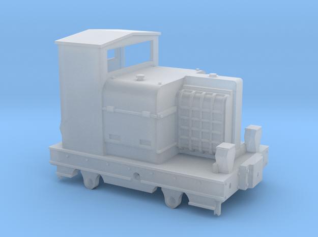 009 Motor Rail Simplex body in Smooth Fine Detail Plastic