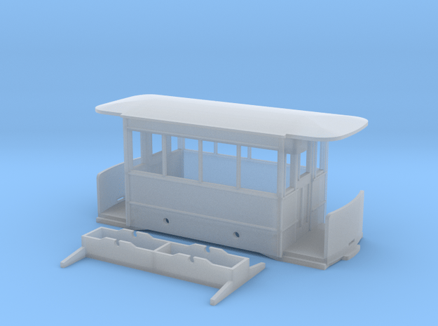 009 Corris Rly - Falcon Works tram carriage