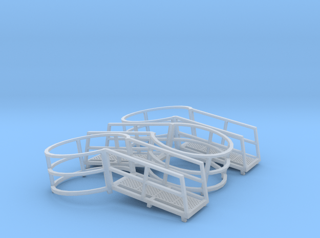 Harvestore Safety Ring (Set of 3) in Smooth Fine Detail Plastic