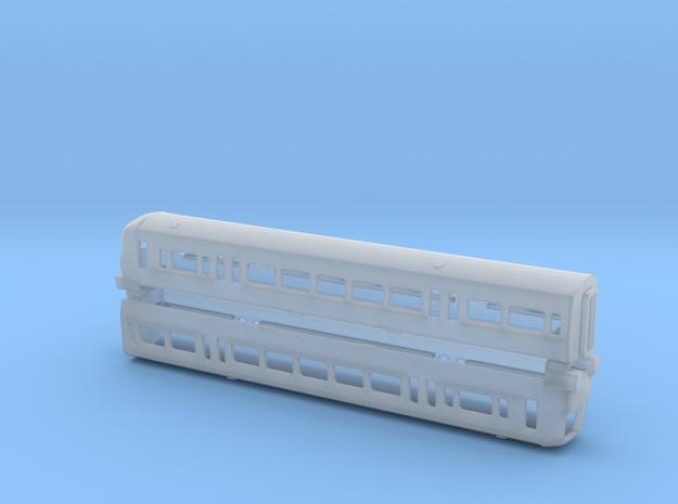 N Gauge Class 466 EMU in Smooth Fine Detail Plastic