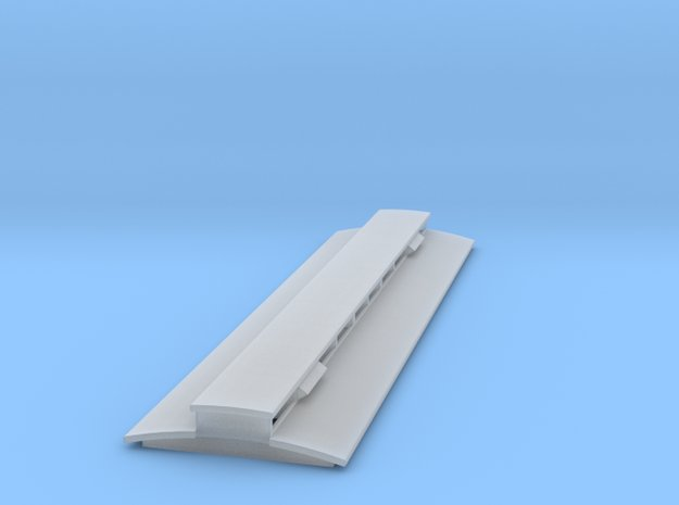 009 Corris clerestory *roof only* in Smooth Fine Detail Plastic