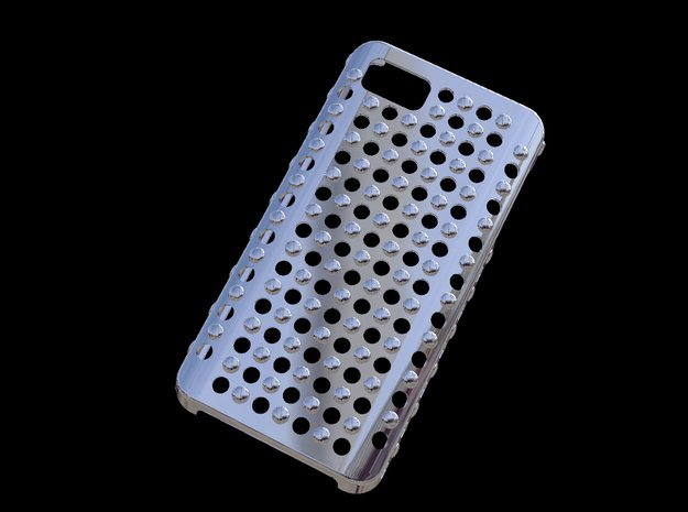 Fairphone one  Case Hole And Sphere in White Processed Versatile Plastic