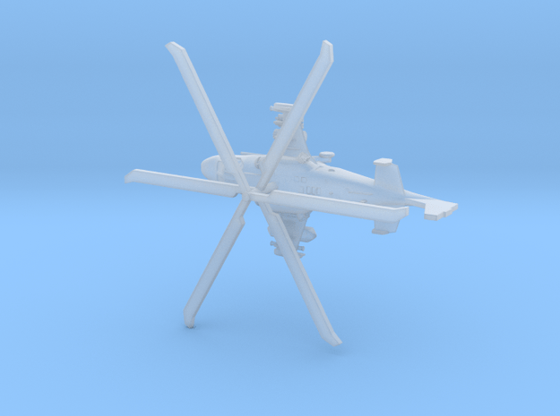 1:350 Ka-52 Alligator + rotors & landing gear in Smooth Fine Detail Plastic