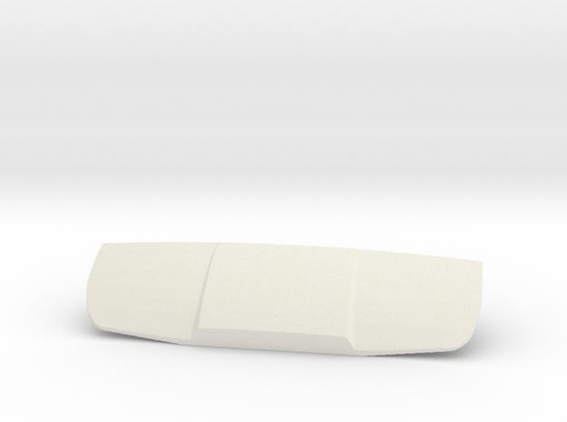 Mercedes Benz Unimog hood / bonnet in White Natural Versatile Plastic
