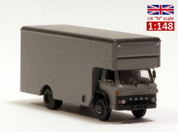 Ford D series moving truck UK N scale