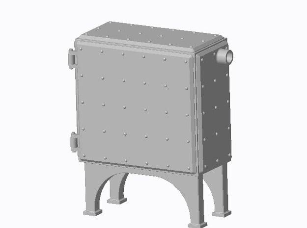 Anschlusskasten Typ-A in Smooth Fine Detail Plastic