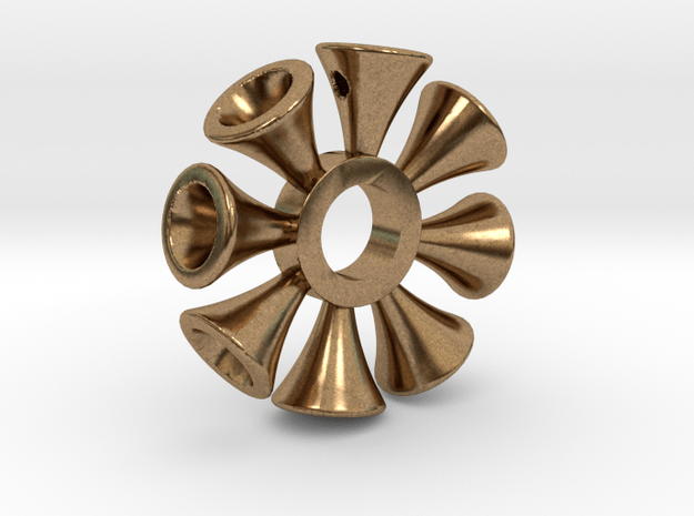 Ring X6 in Natural Brass: Small