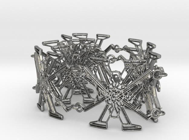 Metal X Bracelet
