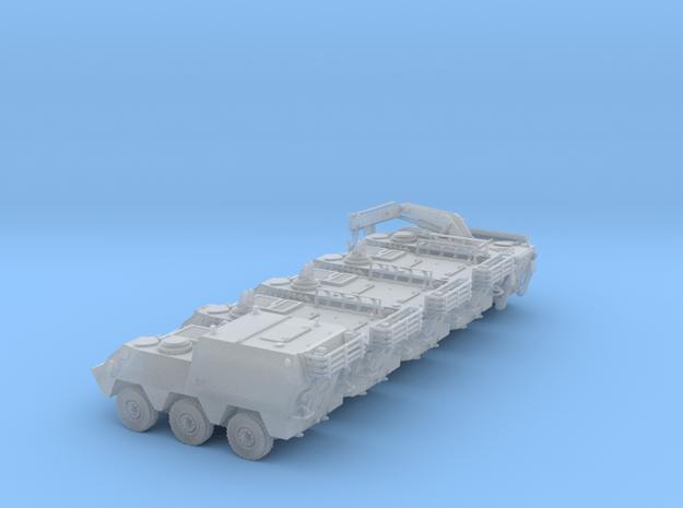 Pegaso BMR-M1-TT-SET-x5-VAR-proto-01 in Smooth Fine Detail Plastic