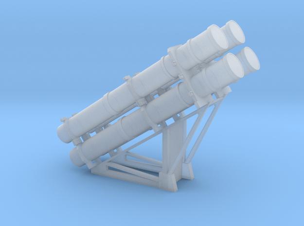RGM-84 Harpoon Launcher 1/100 in Smooth Fine Detail Plastic