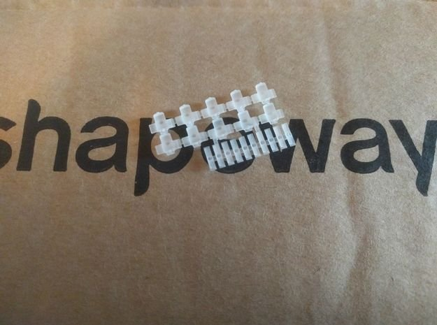 Setje wisselmotoren en vrijbalken NS 1:160 in Smoothest Fine Detail Plastic