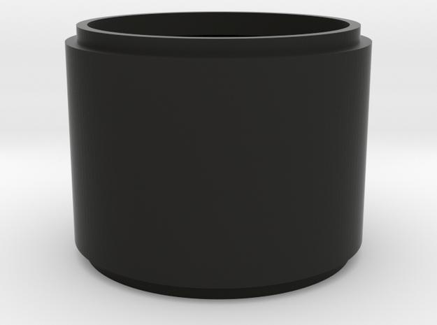 BASS TOM BODY in Black Natural Versatile Plastic
