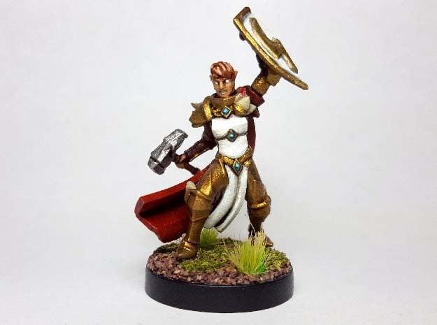 Elf Battlemaster in Smooth Fine Detail Plastic