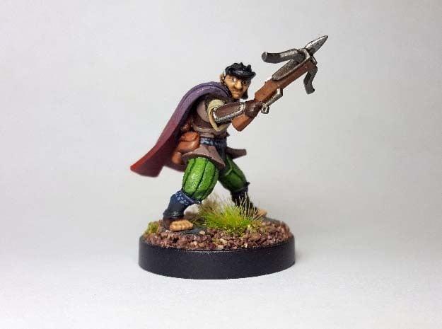 Halfling Assassin in Smooth Fine Detail Plastic