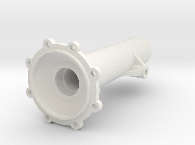 Achsrohr Hinten Rechts V1 in White Natural Versatile Plastic