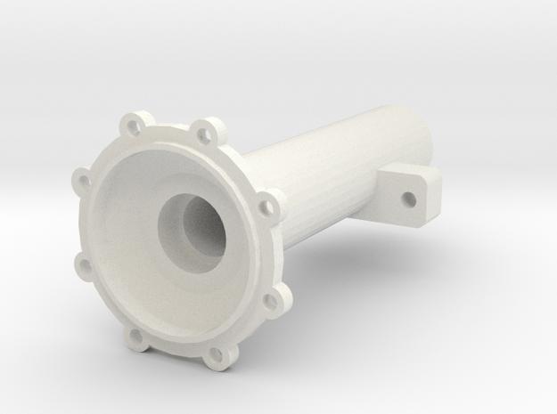 Achsrohr Hinten Links V1 in White Natural Versatile Plastic