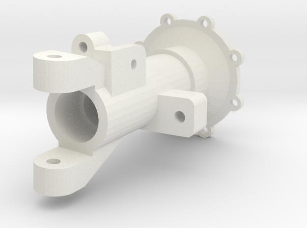 Achsrohr Vorne Links V1 in White Natural Versatile Plastic