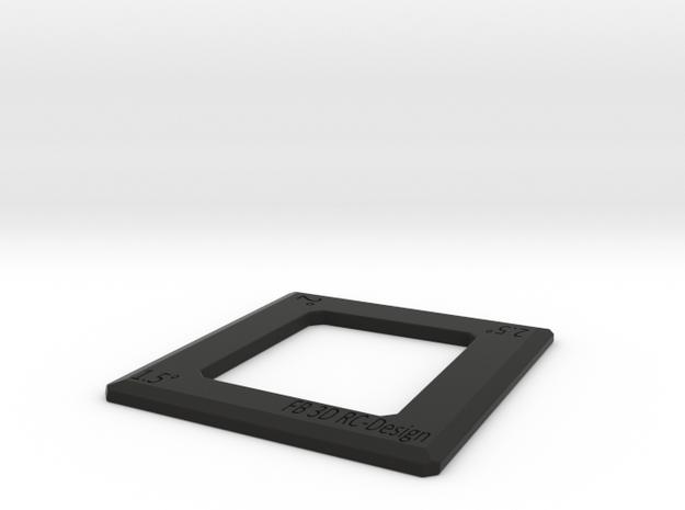 Camber Gauge 1,5°/2°/2,5°  in Black Natural Versatile Plastic