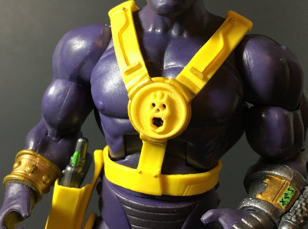 GraySkull Symbol for Mighty Spector 2018 (Qty 2) in Smoothest Fine Detail Plastic