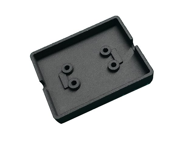 Cover for Cinetape Serial Interface Box in Black Natural Versatile Plastic
