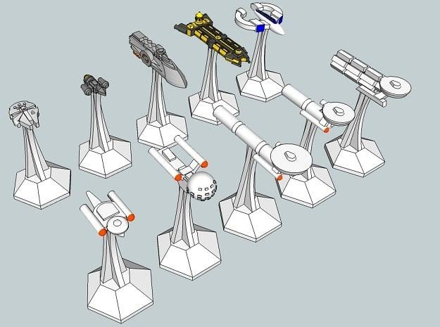 """Microfleet """"Fodder"""" Ships (10pcs)"""