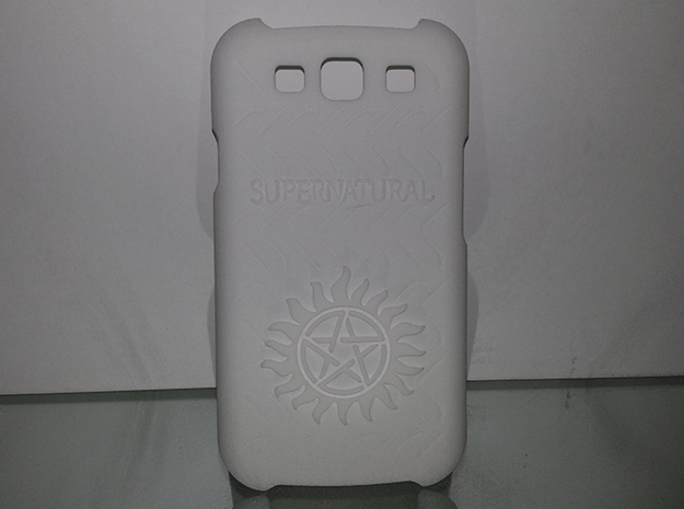 Supernatural Case for Galaxy S3 in White Processed Versatile Plastic