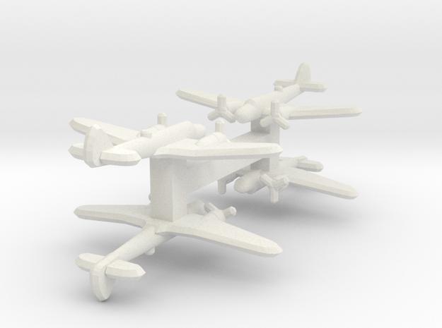 Bristol Blenheim Mk. IV 1:900 x4 in White Natural Versatile Plastic