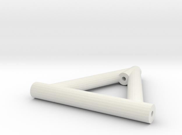 Lenker Oben Lang 3-Link V1 in White Natural Versatile Plastic