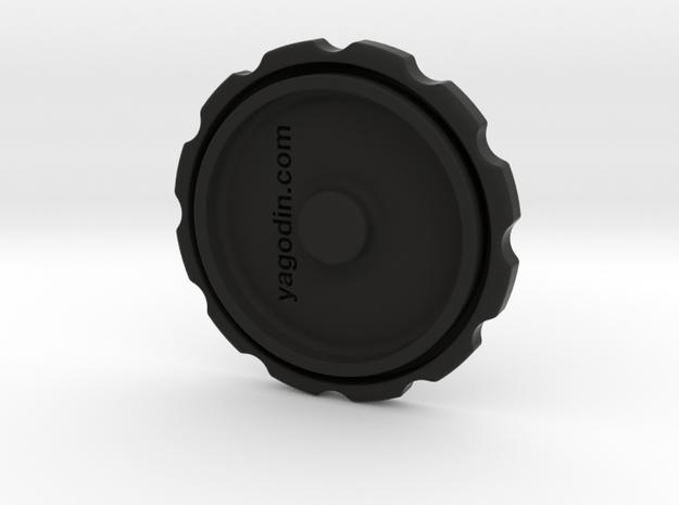 Jobo developing tank cap in Black Natural Versatile Plastic