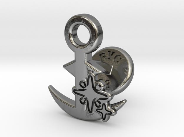 Cufflinks - SHINY!!! in Polished Silver