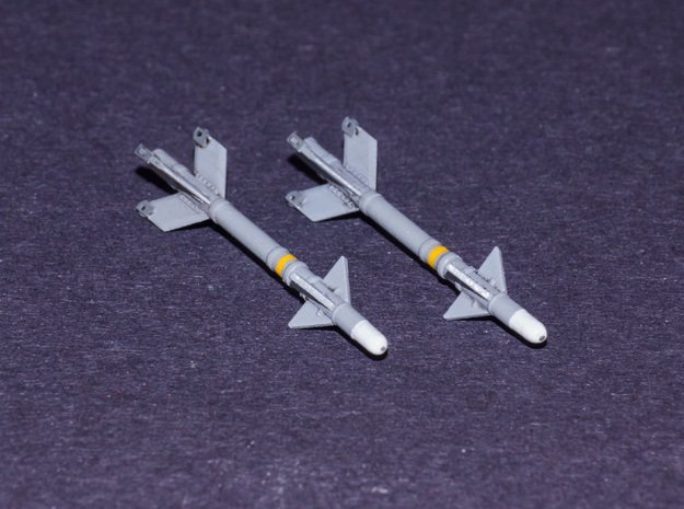 V3S Snake Air-to-Air Missile  in Smooth Fine Detail Plastic: 1:72