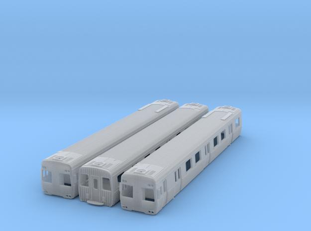 NCS2 - Alstom AC Upg Comeng 3 Car Set in Smooth Fine Detail Plastic